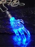 Power Light Gruselhand Blau