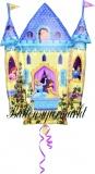 Luftballon Disney Princess Castle, Prinzessinnen Schloss, Shape, Kindergeburtstag u. Geschenk