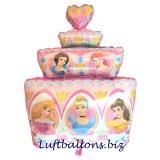 Luftballon Disney Princess, Prinzessinnen Torte, Shape, Kindergeburtstag u. Geschenk