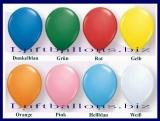 Rund-Luftballons, Qualatex, Standardfarben, 40 cm, 50 Stück