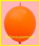 """Link Ballon, Deko-Kettenballon, Girlandenballon, Ø 60-70 cm, 30"""", Rot"""