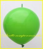 """Link Ballon, Deko-Kettenballon, Girlandenballon, Ø 60-70 cm, 30"""", Grün"""