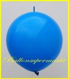 "Link Ballon, Deko-Kettenballon, Girlandenballon, Ø 60-70 cm, 30"", Hellblau"