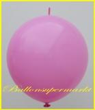 """Link Ballon, Deko-Kettenballon, Girlandenballon, Ø 60-70 cm, 30"""", Pink"""