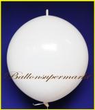 """Link Ballon, Deko-Kettenballon, Girlandenballon, Ø 60-70 cm, 30"""", Weiß"""