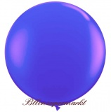 Riesenballon, Riesen-Luftballon, Violett, 60 cm