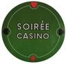Casino Untersetzer, 6 Stück