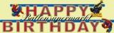 Geburtstagsgirlande, Spider-Man, Happy Birthday