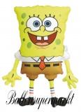 Luftballon SpongeBob Squarepants, Schwammkopf, Shape, Kindergeburtstag u. Geschenk
