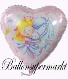 Sweet Little Princess Luftballon mit Helium, Kindergeburtstag u. Geschenk