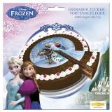 Tortenaufleger Die Eiskönigin, Frozen Kuchendekoration