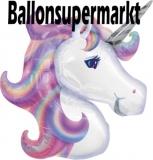 Einhorn, Unicorn Luftballon