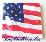 Servietten USA, Papierservietten, Tischdekoration, Amerika Vereinigte Staaten