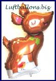 Weihnachts-Luftballon Rentier