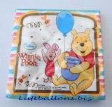 Servietten Winnie the Pooh mit Luftballons, Partyservietten