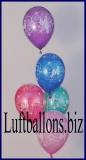 Zahlen-Luftballons, Zahl 60, 10 Stück