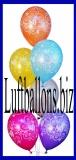 Zahlen-Luftballons, Zahl 80, 10 Stück