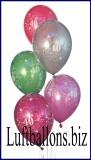 Zahlen-Luftballons, Zahl 40, 50 Stück