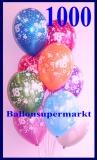 Zahlen-Luftballons, Zahl 18, 1000 Stück