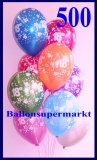 Zahlen-Luftballons, Zahl 18, 500 Stück