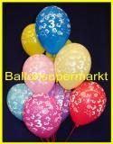 Zahlen-Luftballons, Zahl 3, 10 Stück