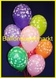 Zahlen-Luftballons, Zahl 4, 10 Stück