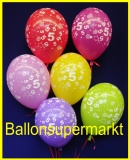 Zahlen-Luftballons, Zahl 5, 100 Stück