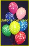 Zahlen-Luftballons, Zahl 7, 100 Stück
