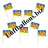 Geburtstag-Dekoration, Partypicker, 50. Geburtstag