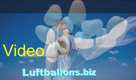 Video: Hochzeitliche Luftballons