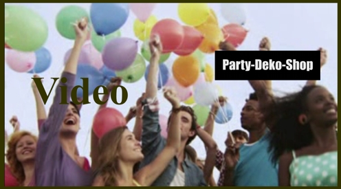 Video: Luftballons.biz, Party Dekoration, Partydekoration